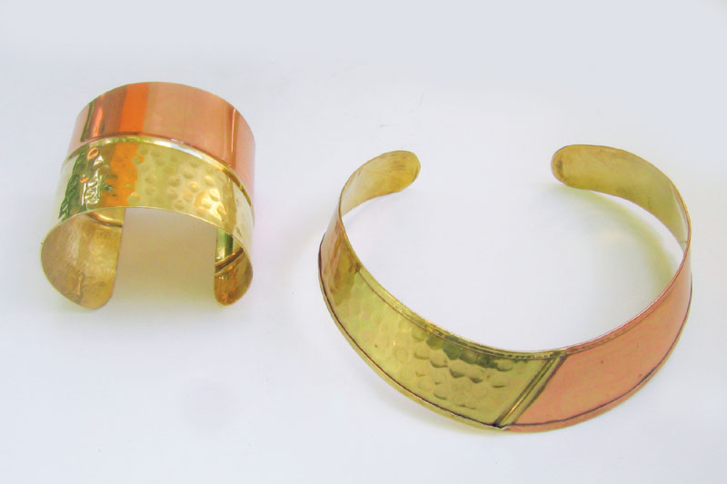 how to clean copper and brass jewelry